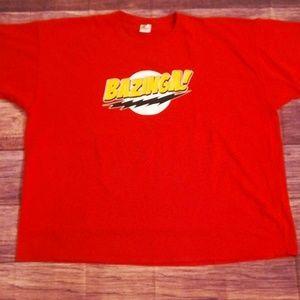 "Fruit of the Loom HD ""Bazinga!"" T-shirt"